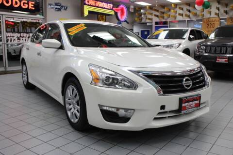 2014 Nissan Altima for sale at Windy City Motors in Chicago IL