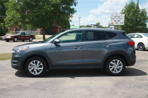 2019 Hyundai Tucson for sale at SCHMITZ MOTOR CO INC in Perham MN