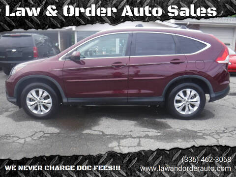 2014 Honda CR-V for sale at Law & Order Auto Sales in Pilot Mountain NC