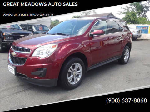2011 Chevrolet Equinox for sale at GREAT MEADOWS AUTO SALES in Great Meadows NJ