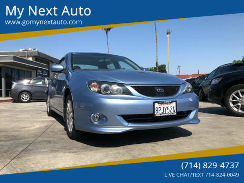 2011 Subaru Impreza for sale at My Next Auto in Anaheim CA