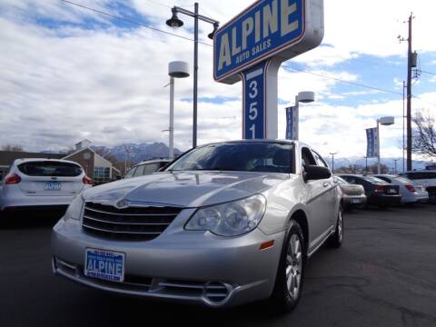 2010 Chrysler Sebring for sale at Alpine Auto Sales in Salt Lake City UT