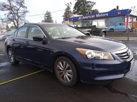 2011 Honda Accord for sale at All American Motors in Tacoma WA