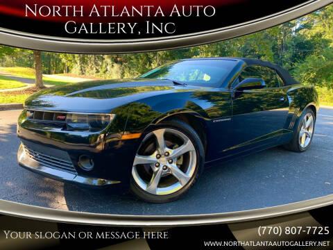 2015 Chevrolet Camaro for sale at North Atlanta Auto Gallery, Inc in Alpharetta GA