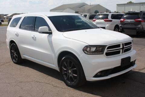 2017 Dodge Durango for sale at LJ Motors in Jackson MI