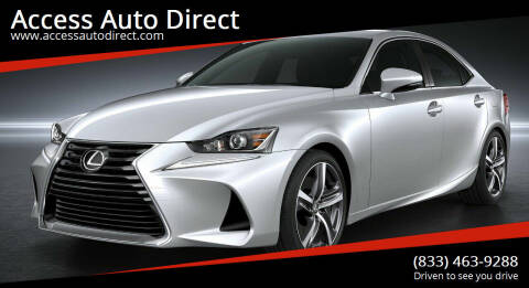 2019 Lexus IS 300 for sale at Access Auto Direct in Baldwin NY