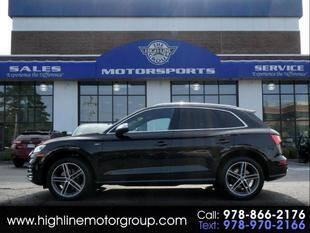 2018 Audi SQ5 for sale at Highline Group Motorsports in Lowell MA