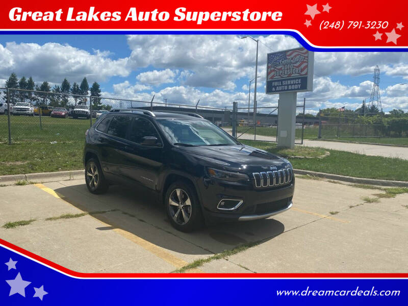 2019 Jeep Cherokee for sale at Great Lakes Auto Superstore 2 in Waterford MI