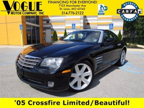 2005 Chrysler Crossfire for sale at Vogue Motor Company Inc in Saint Louis MO