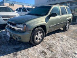 2004 Chevrolet TrailBlazer for sale at Tower Motors in Brainerd MN