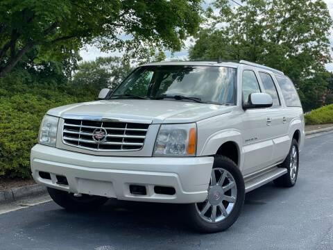 2006 Cadillac Escalade ESV for sale at William D Auto Sales in Norcross GA