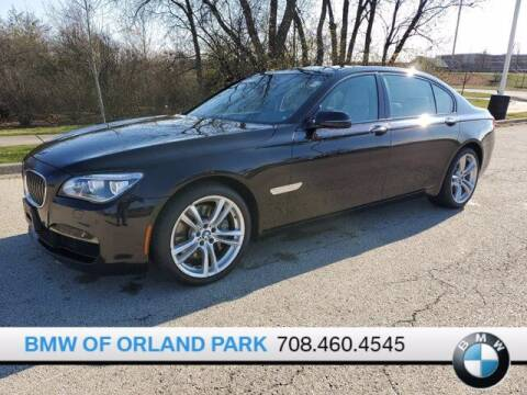 2014 BMW 7 Series for sale at BMW OF ORLAND PARK in Orland Park IL