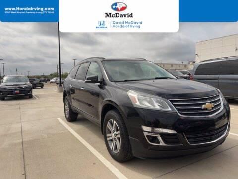 2016 Chevrolet Traverse for sale at DAVID McDAVID HONDA OF IRVING in Irving TX
