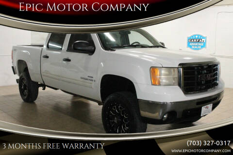 2008 GMC Sierra 2500HD for sale at Epic Motor Company in Chantilly VA