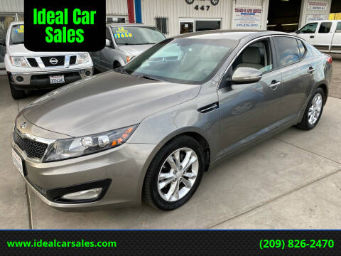 2013 Kia Optima for sale at Ideal Car Sales in Los Banos CA