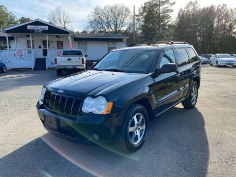 2008 Jeep Grand Cherokee for sale at CVC AUTO SALES in Durham NC
