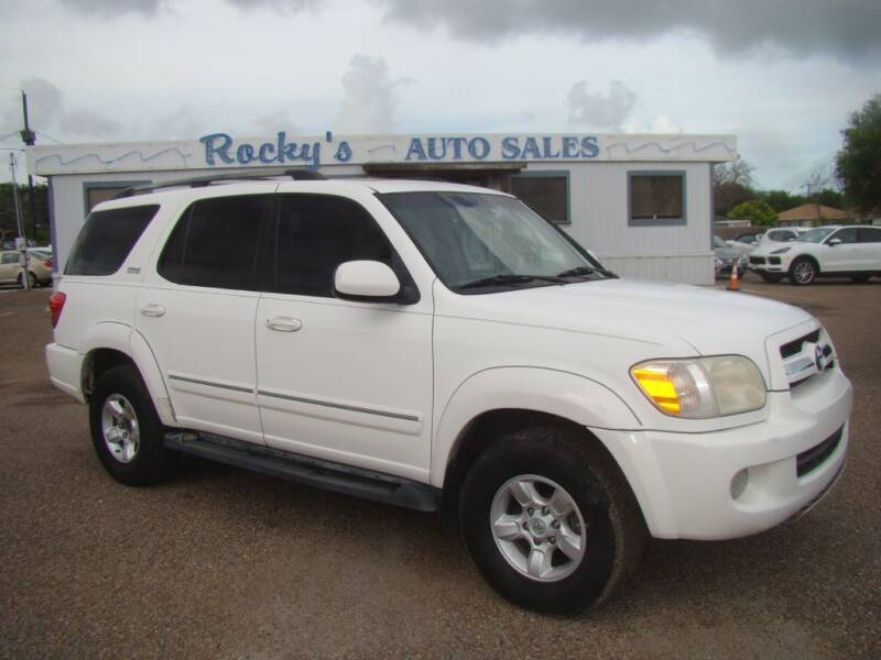 2005 Toyota Sequoia for sale at Rocky's Auto Sales in Corpus Christi TX