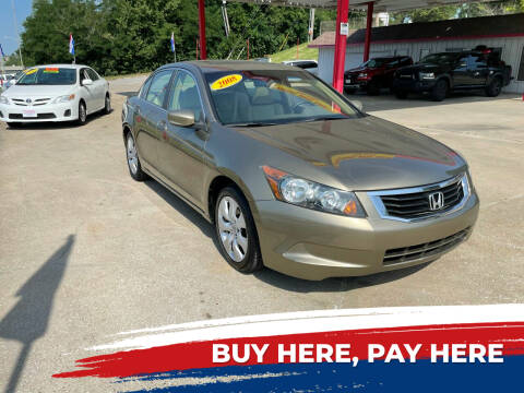 2008 Honda Accord for sale at Central Auto Credit Inc in Kansas City KS