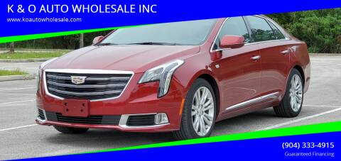 2019 Cadillac XTS for sale at K & O AUTO WHOLESALE INC in Jacksonville FL
