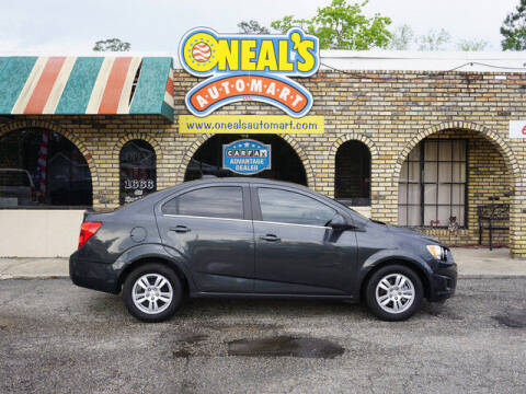 2015 Chevrolet Sonic for sale at Oneal's Automart LLC in Slidell LA
