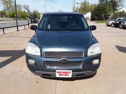 2007 Chevrolet Uplander for sale at NORTHWEST MOTORS in Enid OK