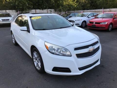 2013 Chevrolet Malibu for sale at Auto Revolution in Charlotte NC