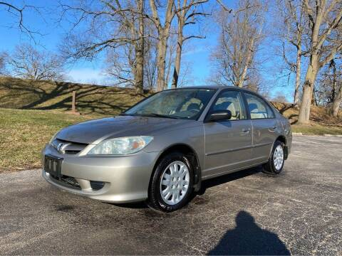 2004 Honda Civic for sale at Moundbuilders Motor Group in Heath OH