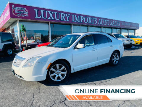 2010 Mercury Milan for sale at LUXURY IMPORTS AUTO SALES INC in North Branch MN
