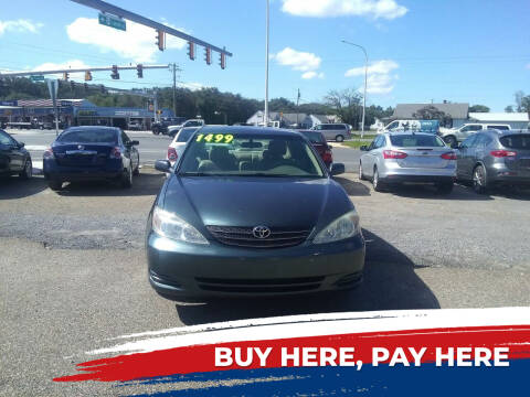 2003 Toyota Camry for sale at Marino's Auto Sales in Laurel DE