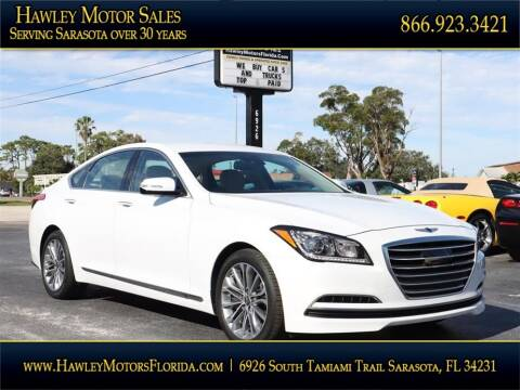2017 Genesis G80 for sale at Hawley Motor Sales in Sarasota FL