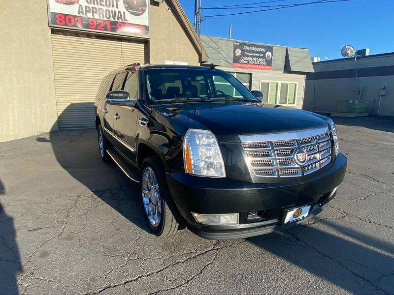 2008 Cadillac Escalade ESV for sale at Utah Credit Approval Auto Sales in Murray UT