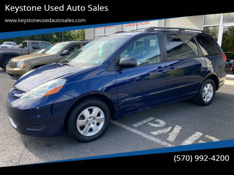 2006 Toyota Sienna for sale at Keystone Used Auto Sales in Brodheadsville PA