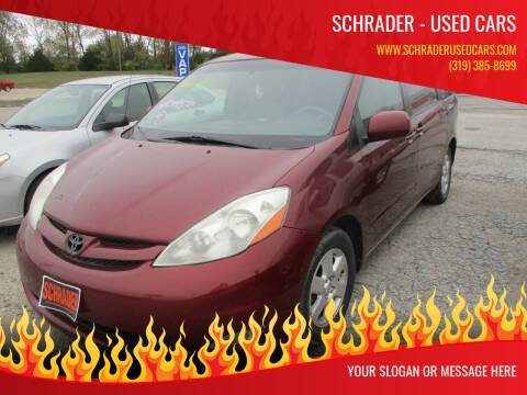 2008 Toyota Sienna for sale at Schrader - Used Cars in Mount Pleasant IA