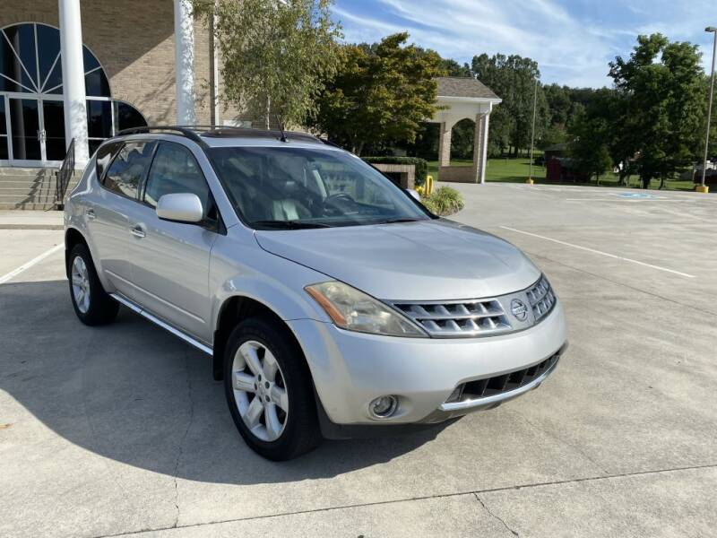 2007 Nissan Murano for sale at 411 Trucks & Auto Sales Inc. in Maryville TN