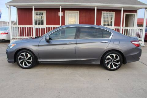 2016 Honda Accord for sale at AMT AUTO SALES LLC in Houston TX