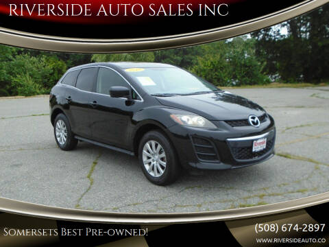 2010 Mazda CX-7 for sale at RIVERSIDE AUTO SALES INC in Somerset MA