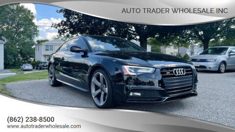 2015 Audi S5 for sale at Auto Trader Wholesale Inc in Saddle Brook NJ