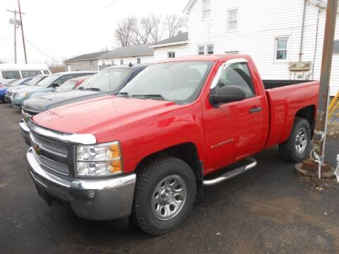 2012 Chevrolet Silverado 1500 for sale at CRYSTAL MOTORS SALES in Rome NY