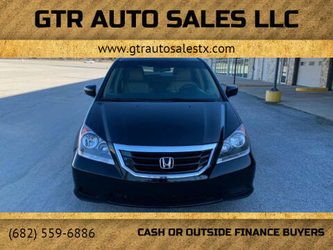 2009 Honda Odyssey for sale at GTR Auto Sales LLC in Haltom City TX