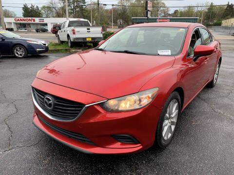 2014 Mazda MAZDA6 for sale at Diana Rico LLC in Dalton GA