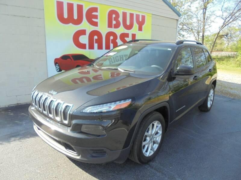2016 Jeep Cherokee for sale at Right Price Auto Sales in Murfreesboro TN