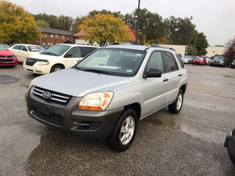2008 Kia Sportage for sale at 4th Street Auto in Louisville KY