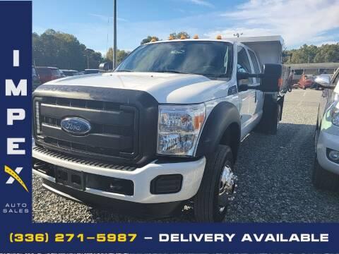 2015 Ford F-550 Super Duty for sale at Impex Auto Sales in Greensboro NC