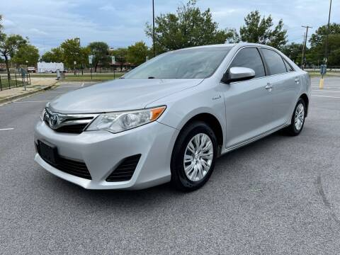2013 Toyota Camry Hybrid for sale at Royal Motors in Hyattsville MD