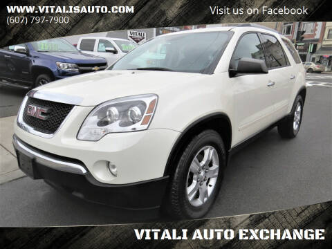 2012 GMC Acadia for sale at VITALI AUTO EXCHANGE in Johnson City NY