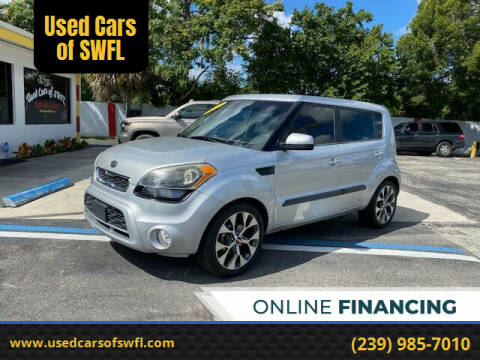 2012 Kia Soul for sale at Used Cars of SWFL in Fort Myers FL