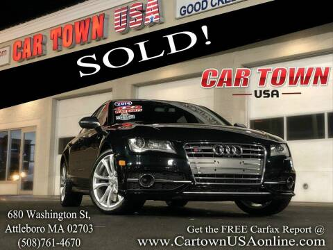 2014 Audi S7 for sale at Car Town USA in Attleboro MA