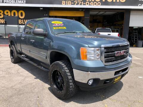 2011 GMC Sierra 2500HD for sale at BEST DEAL MOTORS  INC. CARS AND TRUCKS FOR SALE in Sun Valley CA