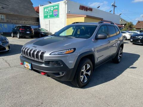 2018 Jeep Cherokee for sale at Auto Ave in Los Angeles CA