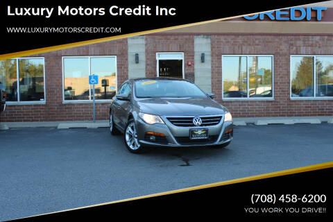 2009 Volkswagen CC for sale at Luxury Motors Credit Inc in Bridgeview IL